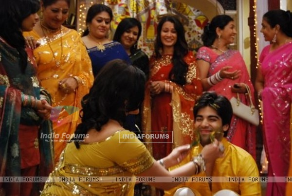 Still of Haldi Ceremony