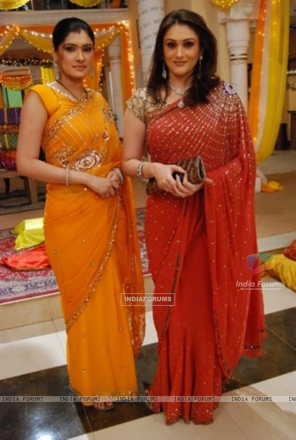 A still image of Sheetal and Avni