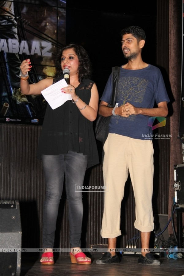 Lyricist Varun Grover was at the Song Launch of Katiyabaaz