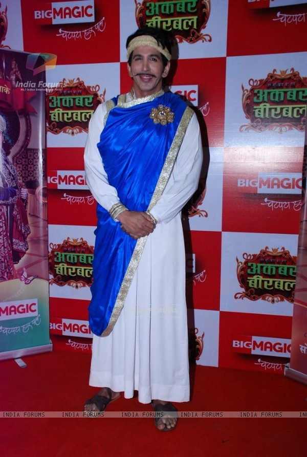 Vishal Kotian was at the Launch of Big Magic's Akbar Birbal