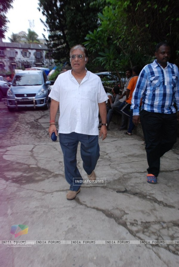Anjan Srivastava was spotted at Dharmesh Tiwari's Prayer Meet