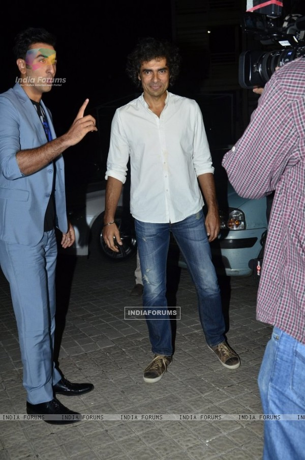 Ranbir Kapoor and Imtiaz Ali were spotted at the Short Film Festival