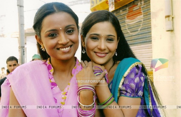 Sara and Parul looking charming