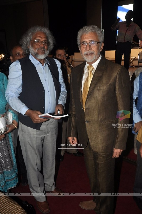 Naseeruddin Shah at the Poetry Festival Organised by Ahtesab Foundation