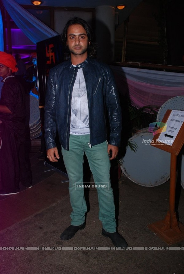 Rohit Bharadwaj at the Success Bash of Mahabharat