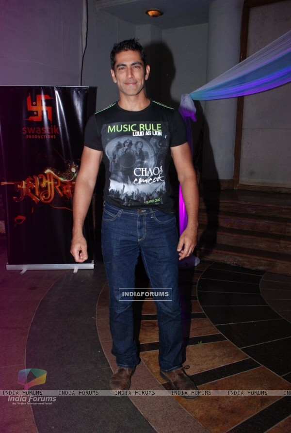 Tarun Khanna at the Success Bash of Mahabharat