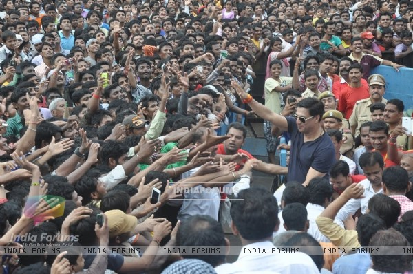 Madhur Bhandarkar was at the Dahi Handi Celebration in Mumbai