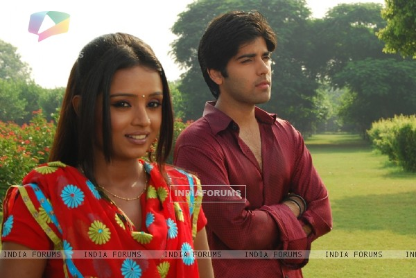 A still image of Ranvir and Ragini