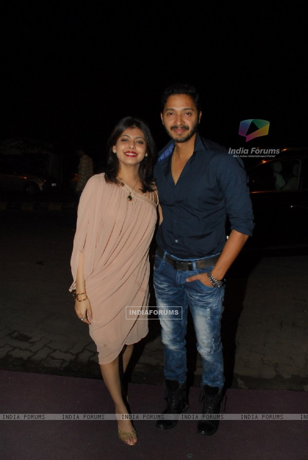 Shreyas and Deepti Talpade at the Success Bash of Poshter Boyz