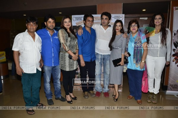 Cast of Identity Card T the Media Meet