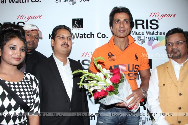 Sonu Sood felicitated at the KWC Luxurio