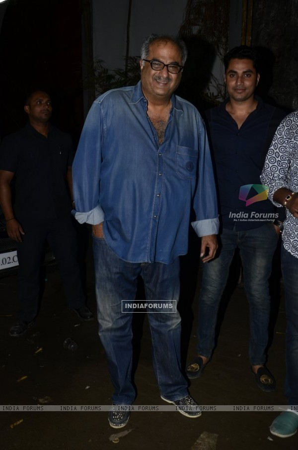 Boney Kapoor at the Launch of Sanjay Kapoor's Movie 'Tevar'