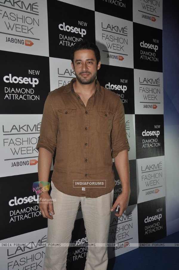 Zulfi Syed was at the Lakme Fashion Week Winter/ Festive 2014 Day 3