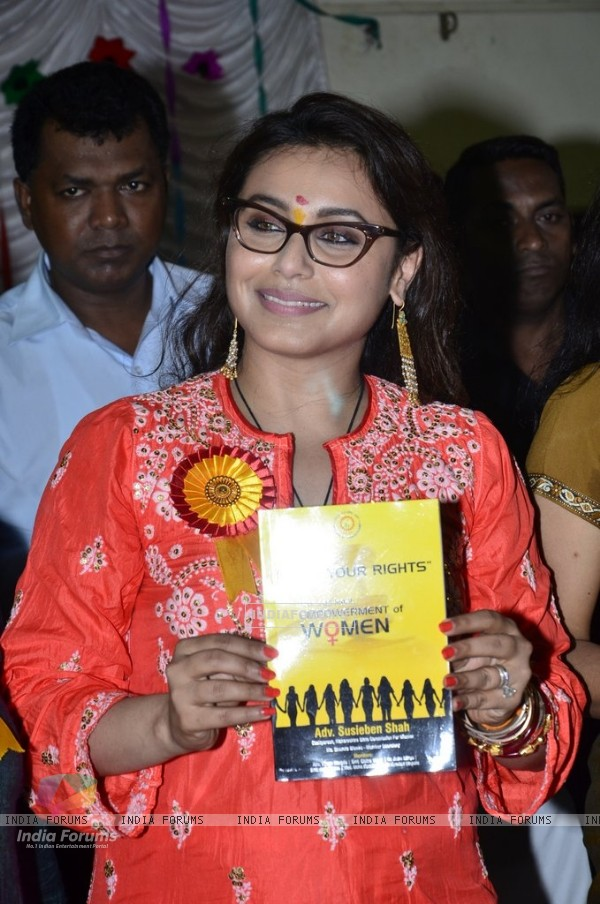 Rani Mukherjee Inaugurates Self Defence Workshop for BMC Girls