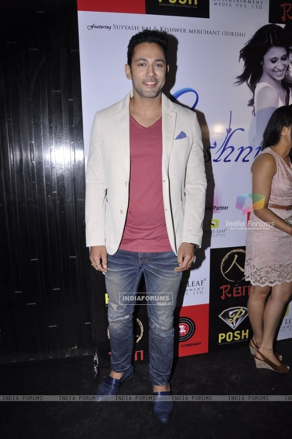Sahil Anand poses for the media at the Album Launch of Khushnuma