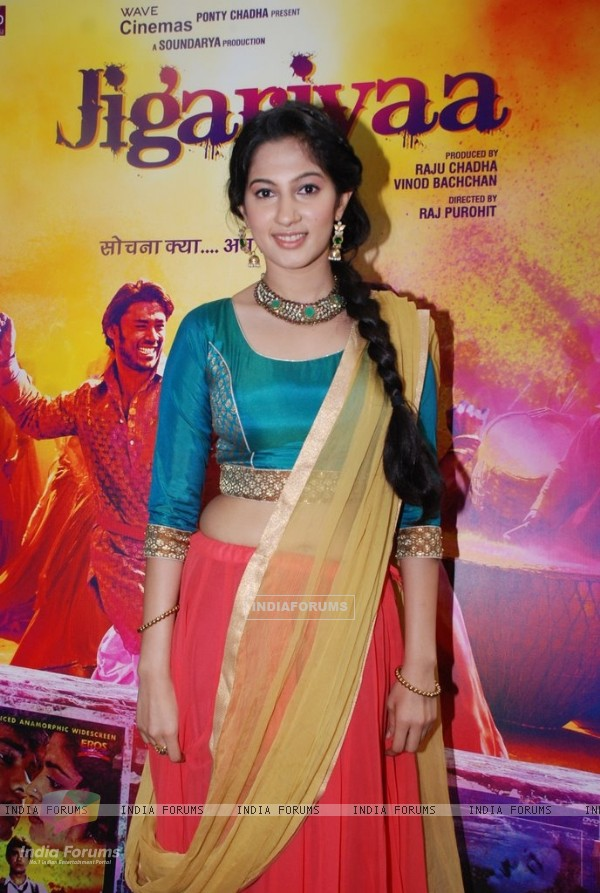 Cherry Mardia at the Trailer Launch of Jigariyaa