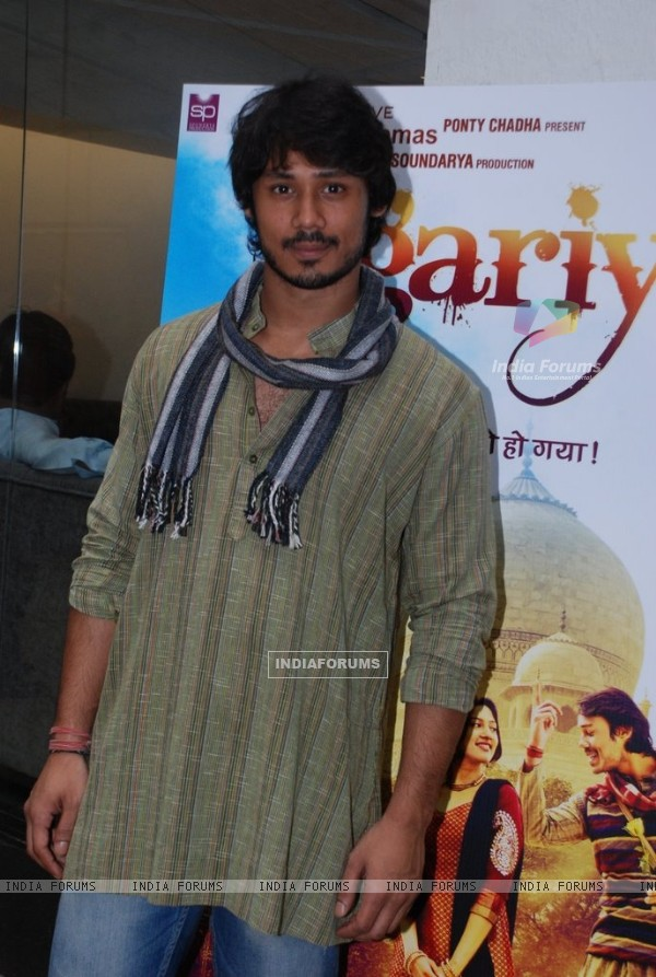 Harshvardhan Deo was seen at the Trailer Launch of Jigariyaa