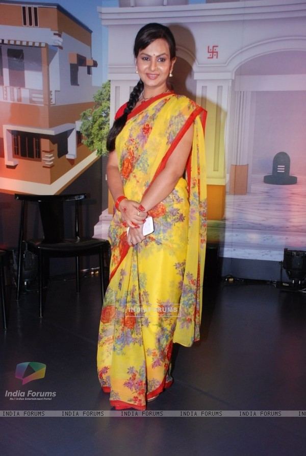 Disha Salva at the Launch of Neeli Chhatri Wale