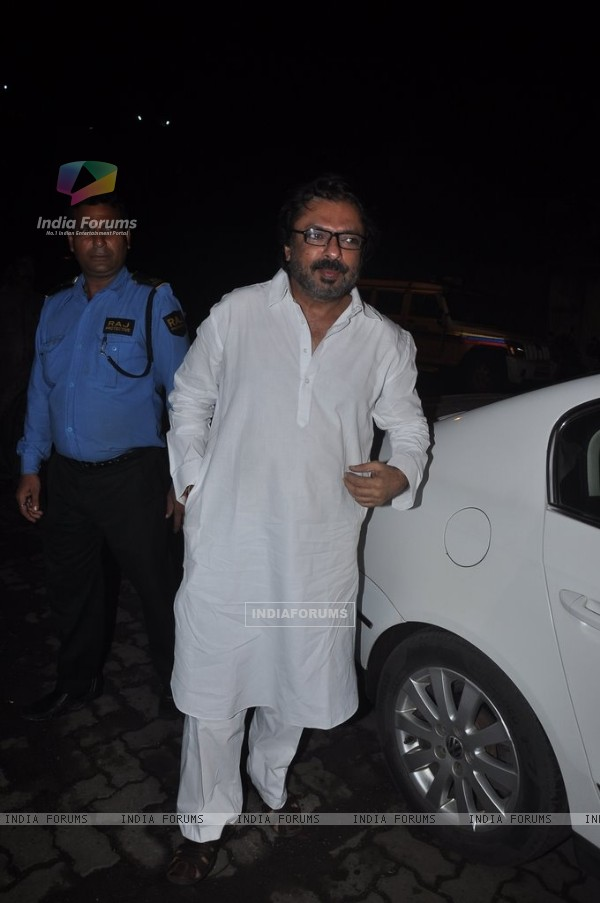 Sanjay Leela Bhansali at Mary Kom's Exclusive Footage Screening