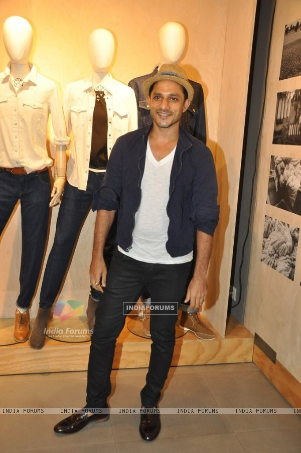 Yudhistir at Levis Khadi Collection Launch