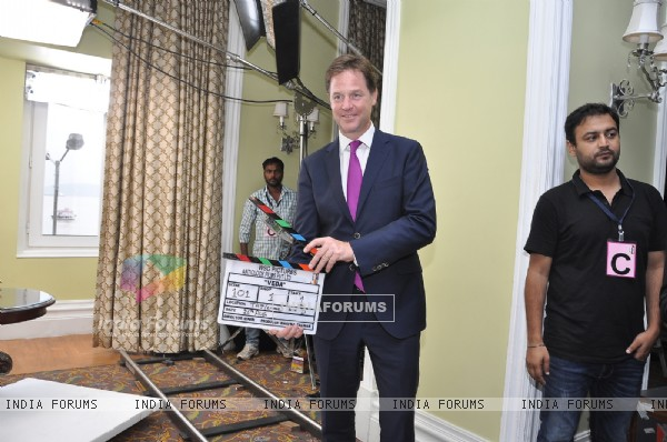 Deputy Prime Minister of U.K Nick Clegg inaugurates the Movie 'Veda'