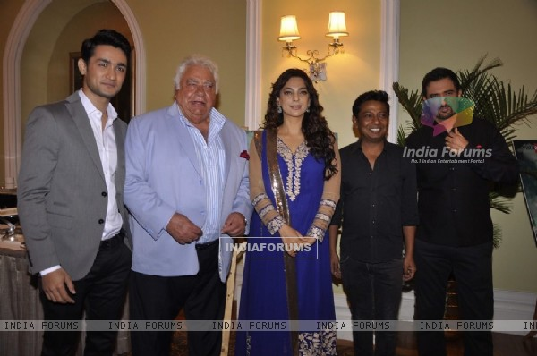 The Cast and Crew at the Mahurat of the Movie 'Veda'