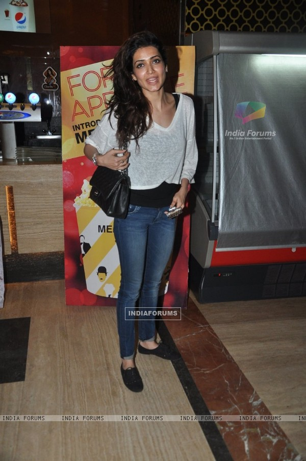 Karishma Tanna snapped at PVR