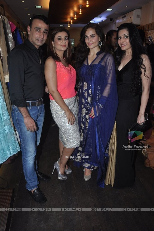 Elli Avram at the Launch of Winter Festive Collection at Nazakat Store