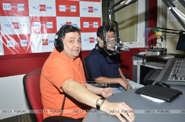 Rishi Kapoor was snapped at Big FM Studio