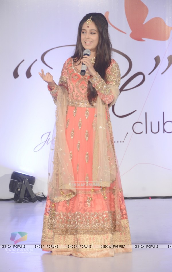 Srishty Rode addresses the media as Bawree Launches 'Be Club'