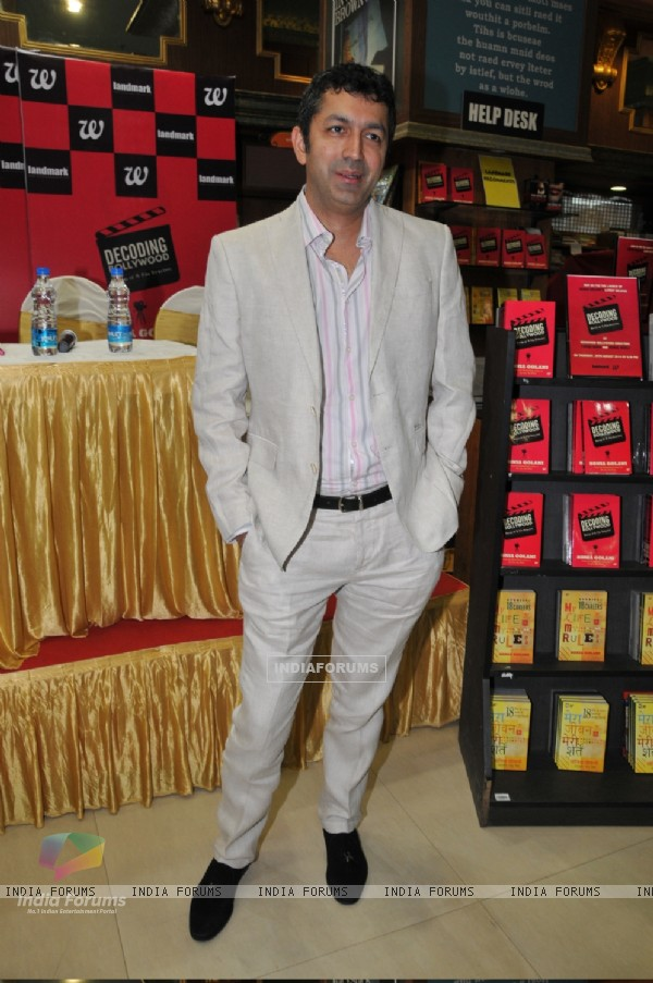 Kunal Kohli at the Book Launch of Decoding Bollywood