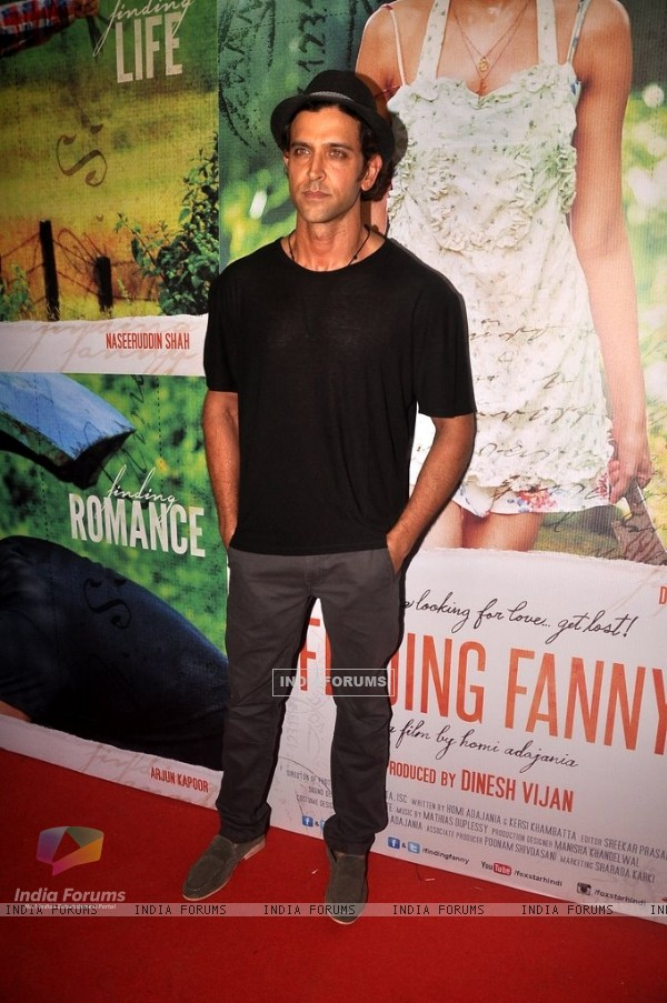 Hrithik Roshan at the Special Screening of Finding Fanny