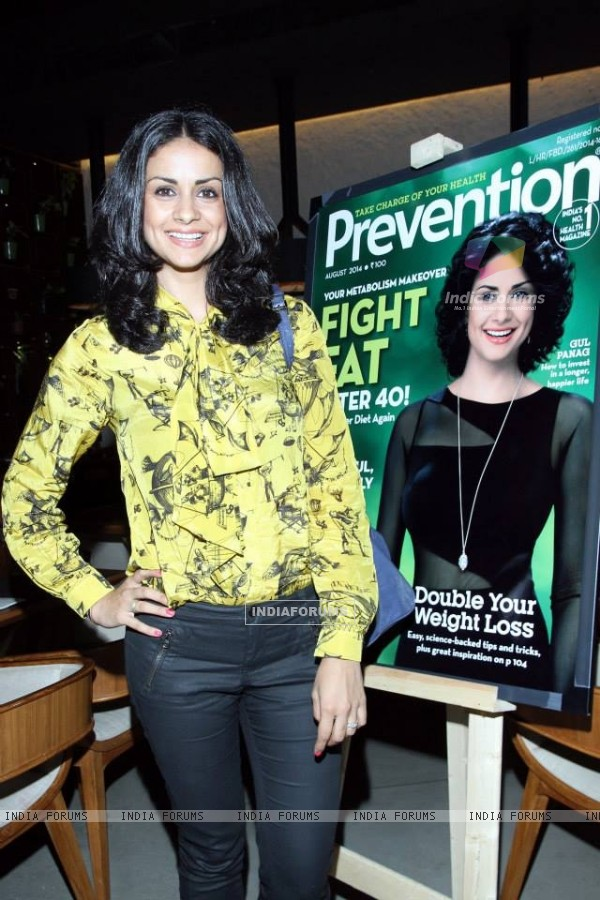Gul Panag at the Launch of From Minutes To Miles