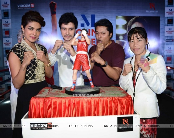 Promotions of Mary Kom in Delhi