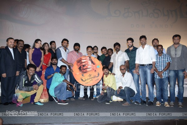 Cast and Crew at Mahabalipuram Audio Launch