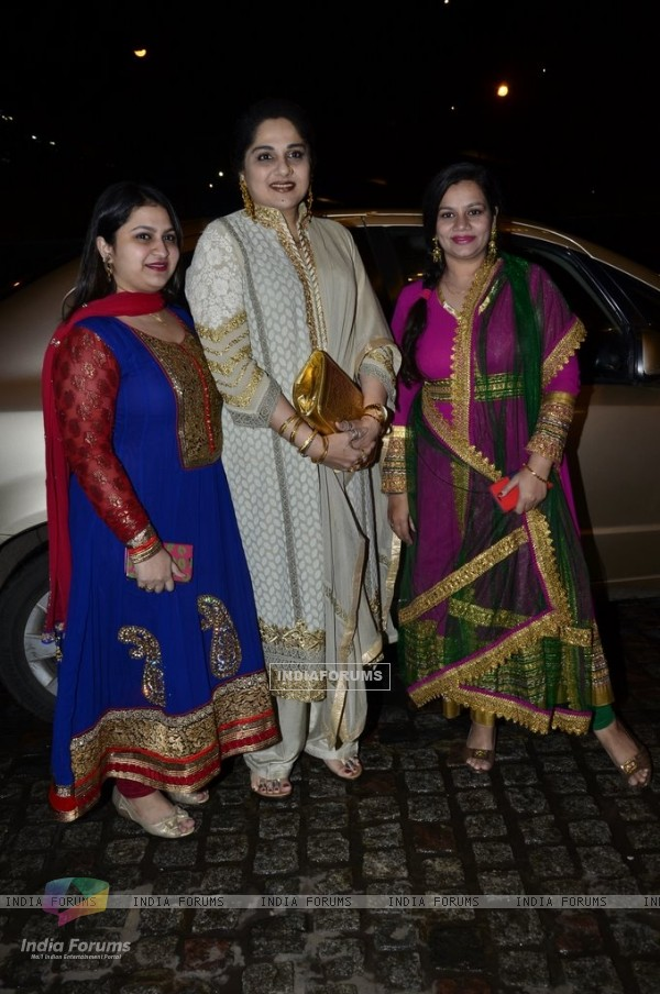 Shagufta Ali at Nikitan Dheer and Kratika Sengar's Wedding Reception