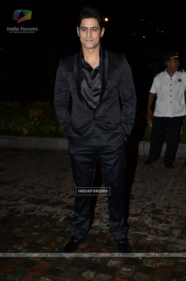 Mohit Raina was at Nikitan Dheer and Kratika Sengar's Wedding Reception