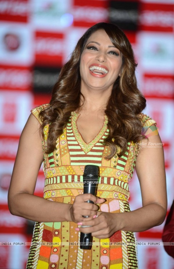 Bipasha Basu was all smiles at the Promotions of Creature 3D in Delhi