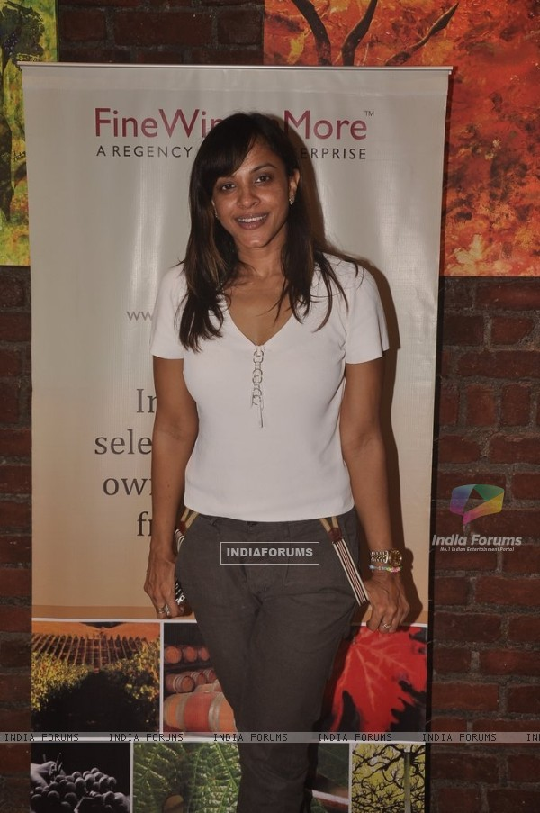 Manasi Scott at the Launch of Fine Wines N More