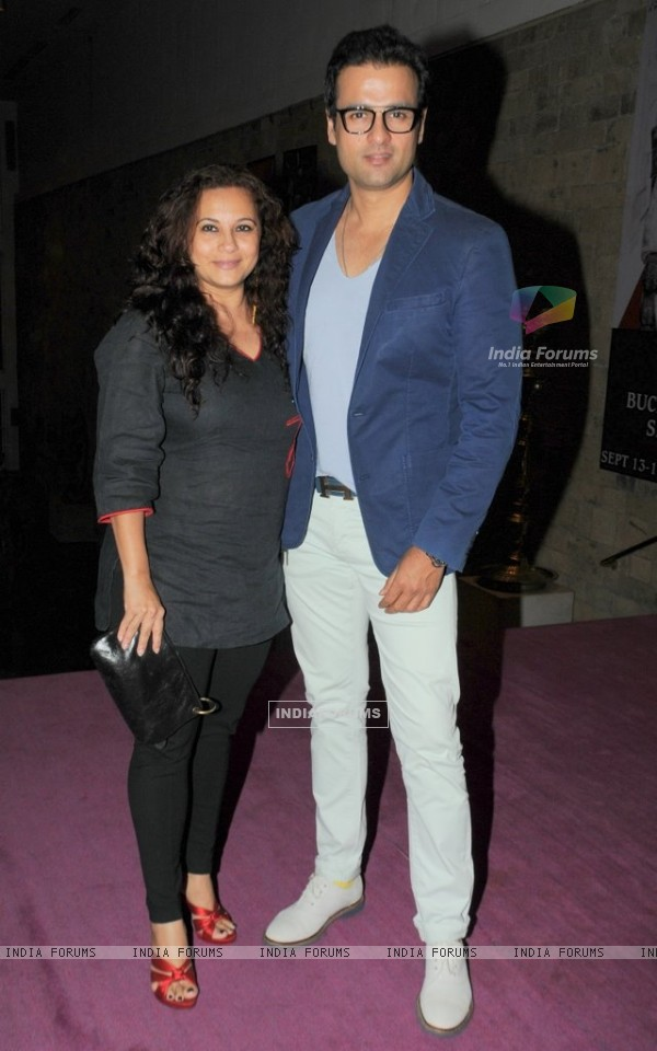 Rohit Roy and Manasi Joshi at Three Women Play