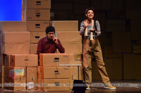 Kalki Koechlin & Purab Kohli at their Play
