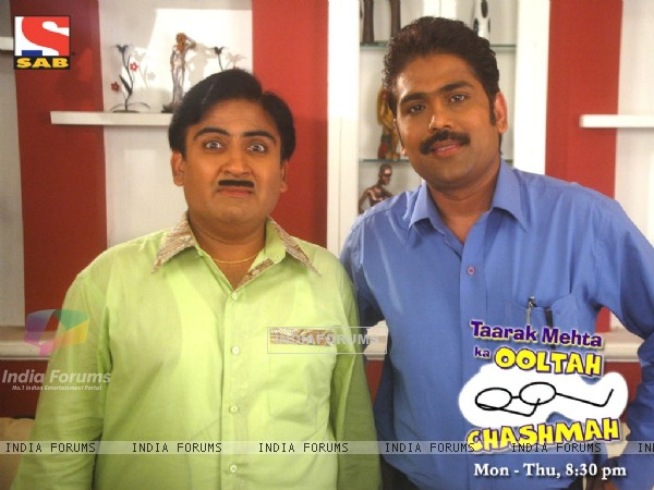 Dilip Joshi and Sailesh Lodha