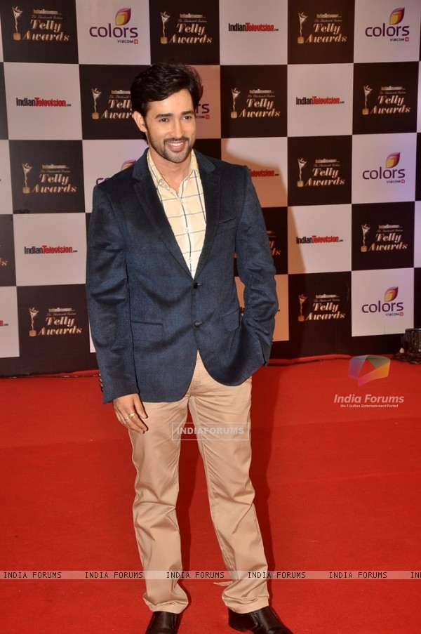 Karan Sharma at the Indian Telly Awards