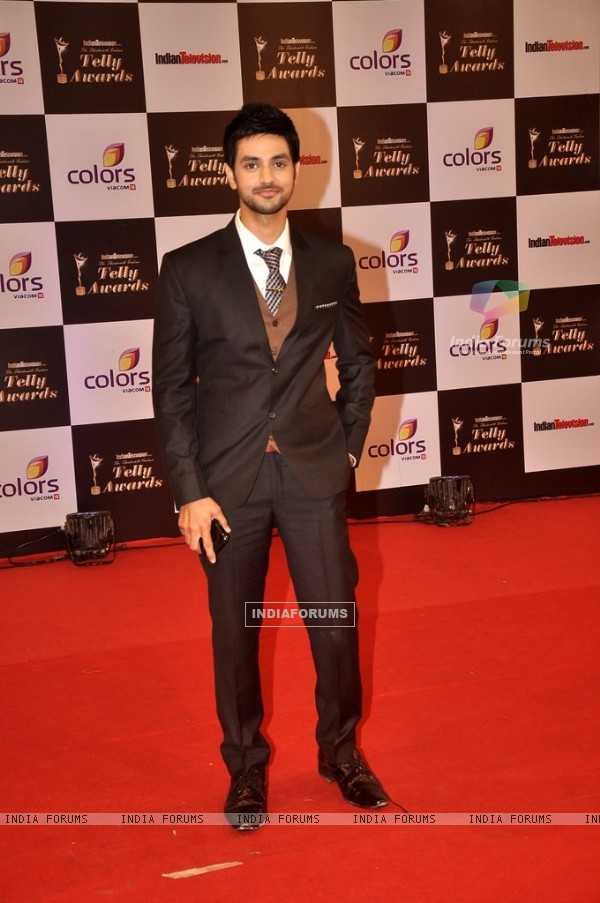 Shakti Arora at the Indian Telly Awards