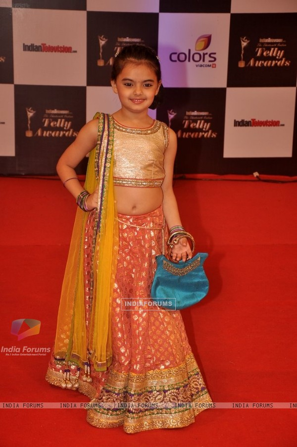 Ruhanika Dhawan at the Indian Telly Awards