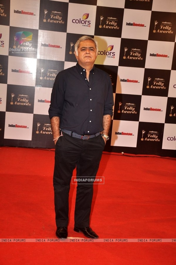 Hansal Mehta was at the Indian Telly Awards