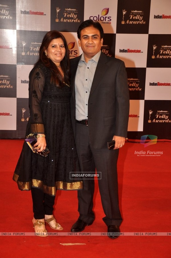 Dilip Joshi ar the Indian Telly Awards