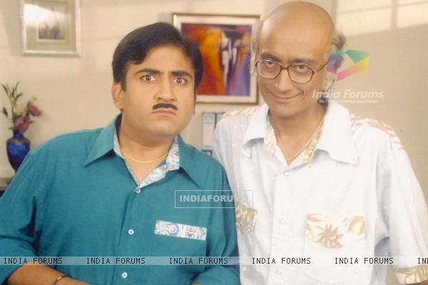 Dilip Joshi and Amit Bhatt