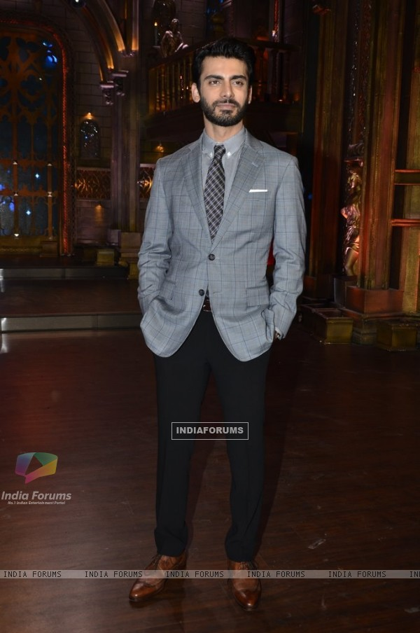 Fawad Khan at the Promotions of Khoobsurat on India's Best Cine Stars Ki Khoj