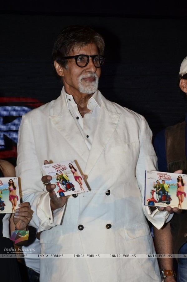 Amitabh Bachchan launches the Music of Balwinder Singh Famous Ho Gaya